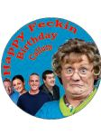 7.5 Mrs Brown's Boys Edible Icing or Wafer Birthday Cake Topper